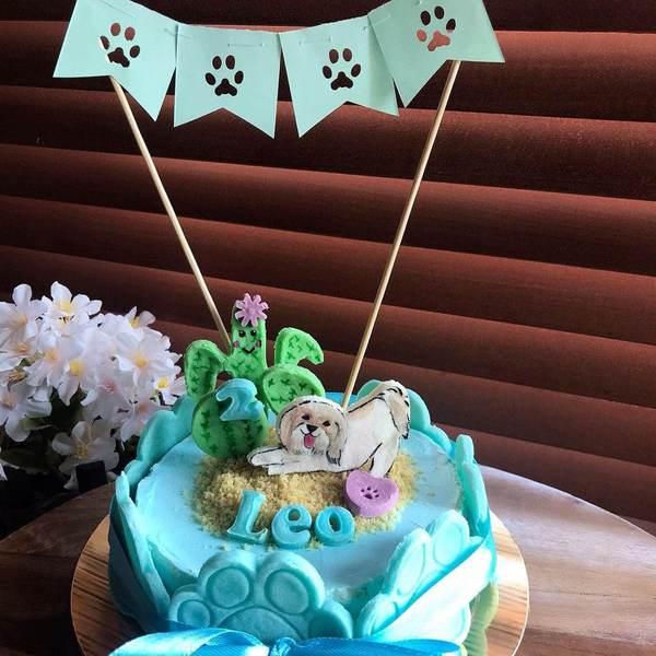Happy cactus Cake